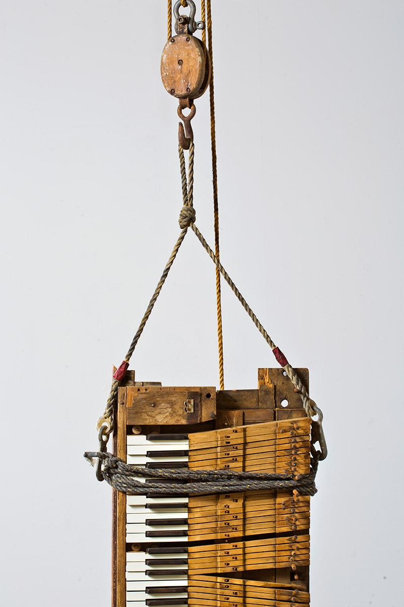 Found Object Art by Glenn Carter, Artist