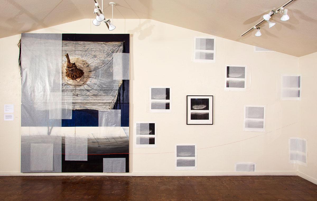 Installation by Glenn Carter, Artist